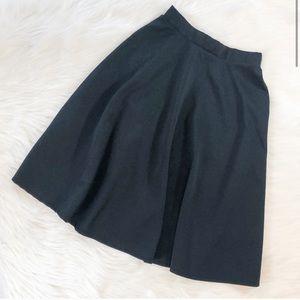 Forever21 Casual Skater Skirt - Black - Size Small